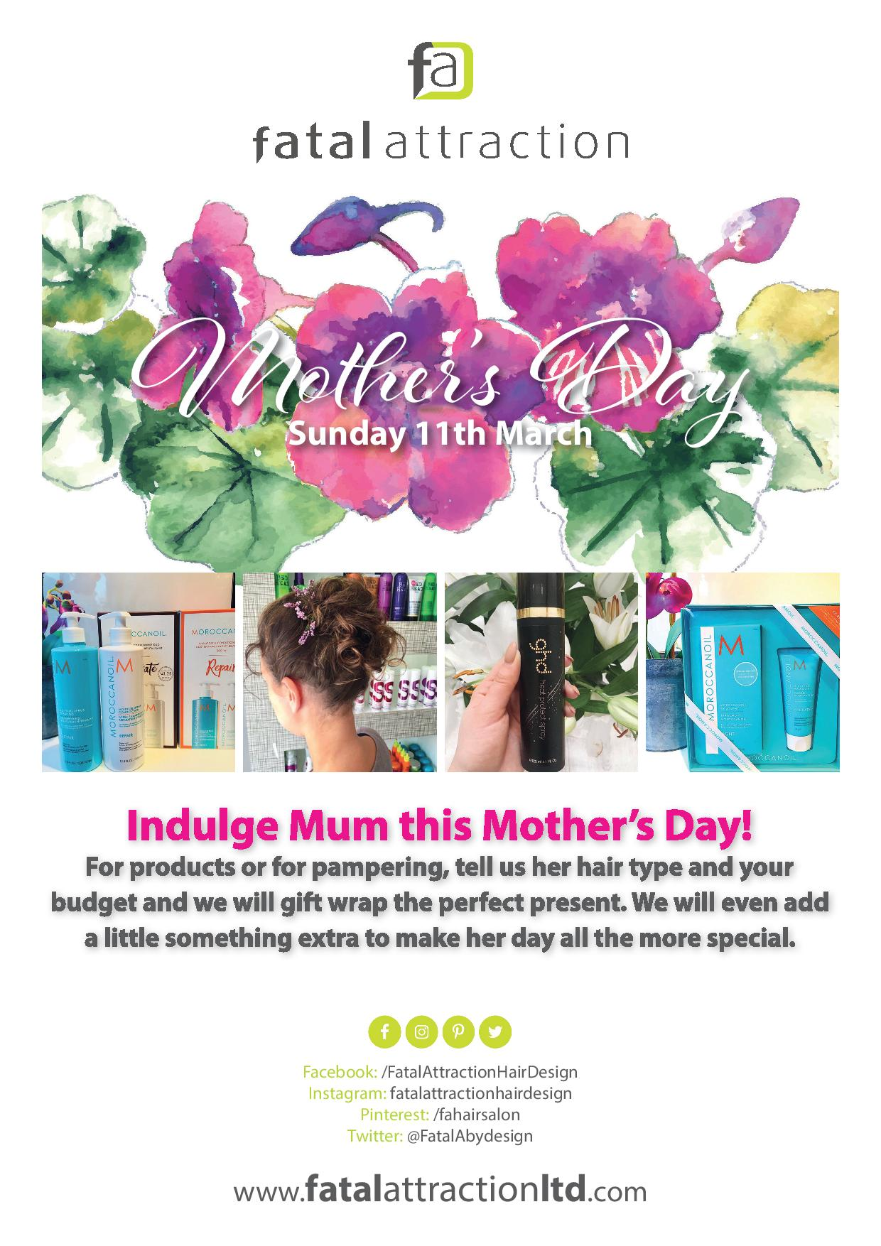 Mother's Day Salon Offer