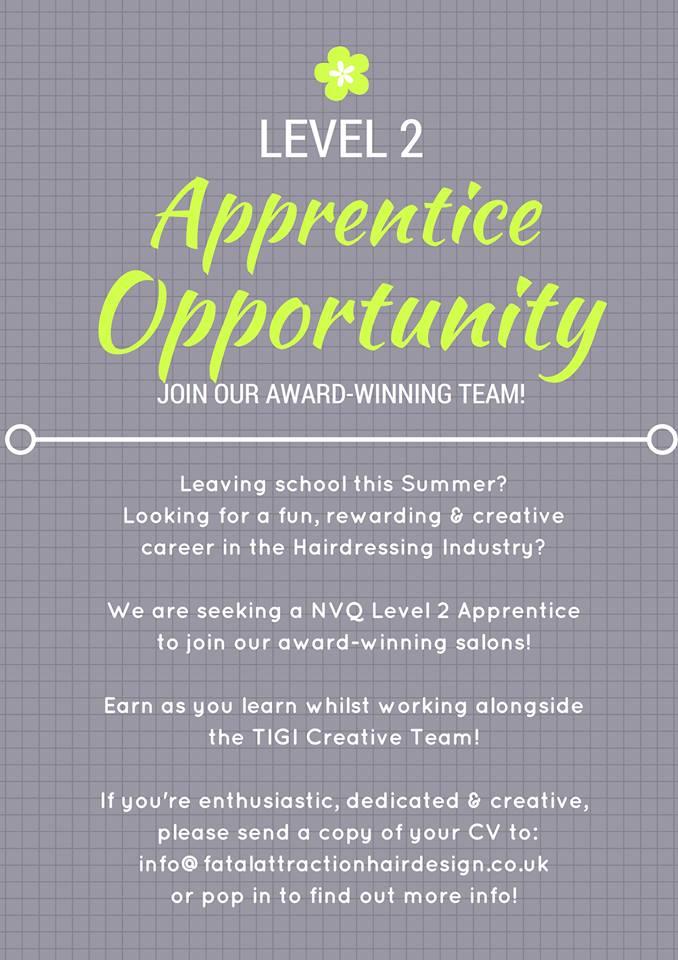 Apprenticeship Opportunity
