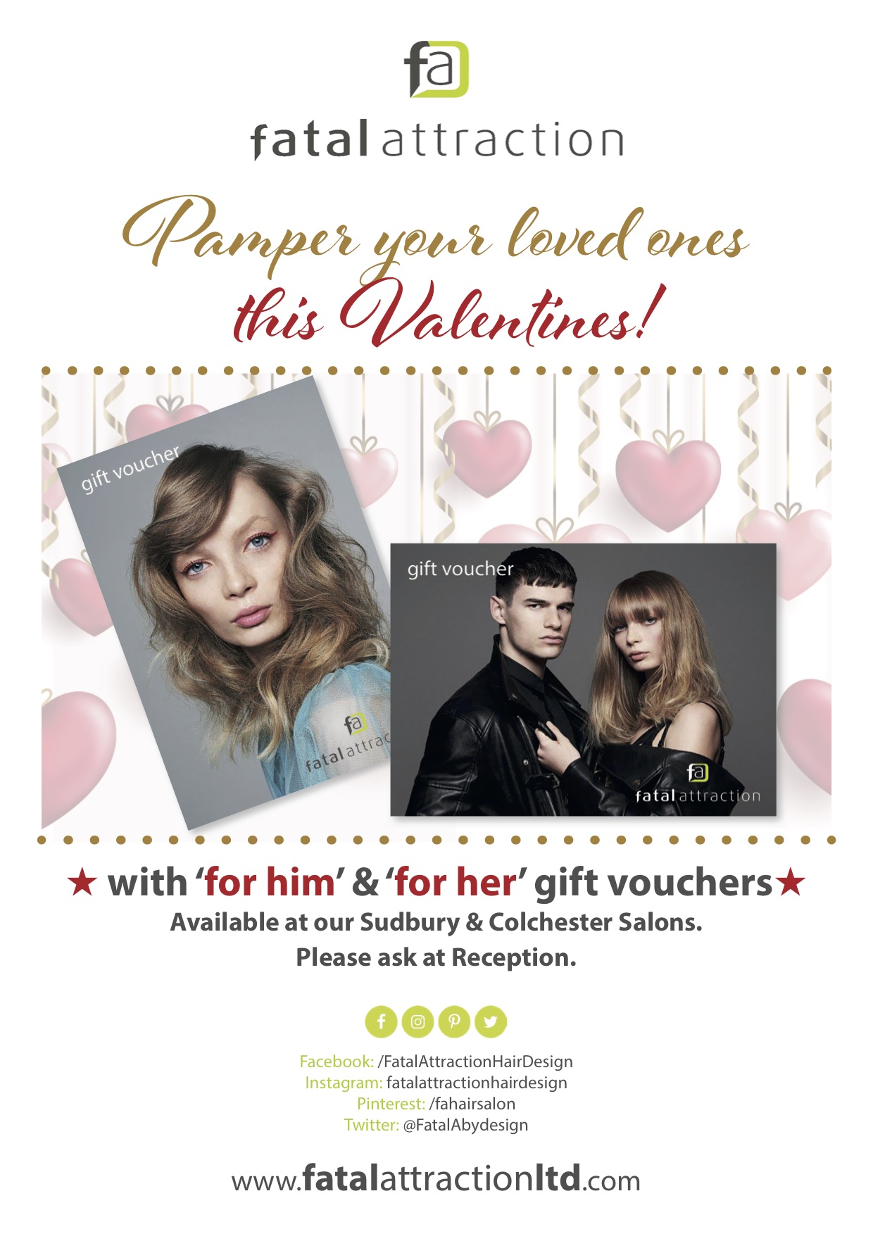 His and Hers vouchers promotion